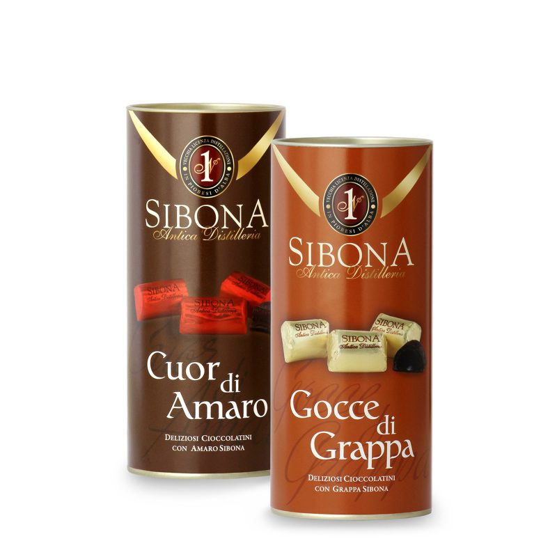 Cioccolatini Sibona - Distilleria Sibona