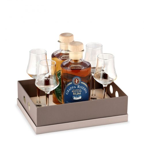 Box vassoio - Distilleria Sibona
