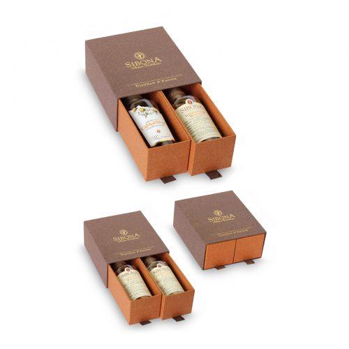 Confezione Doppio Cassetto - Prodotti Distilleria Sibona
