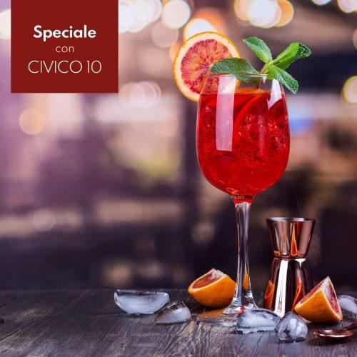 CIVICO 10, un cocktail con l'esclusivo Vermouth Sibona