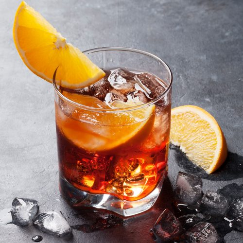 Dark Negroni - Cocktail Sibona