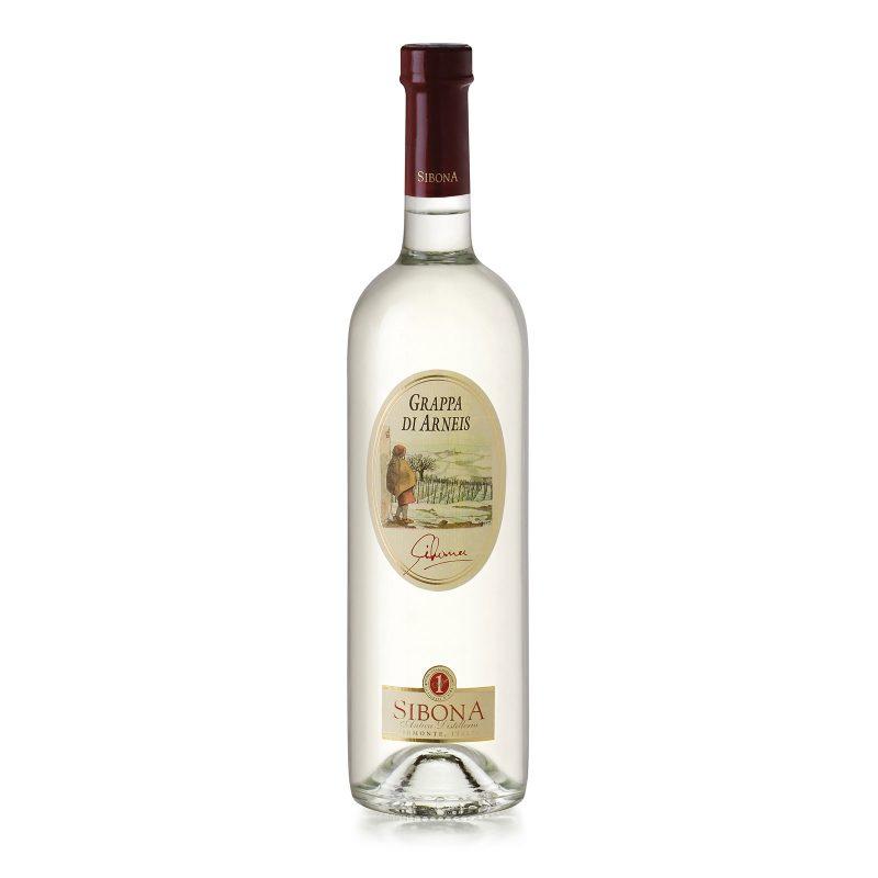 Grappa di Arneis Linea Distilla - Distilleria Sibona