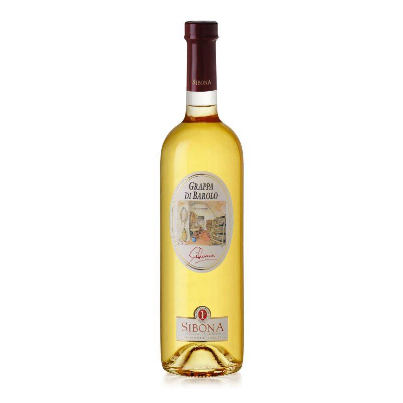 Grappa di Barolo Linea Distilla - Distilleria Sibona