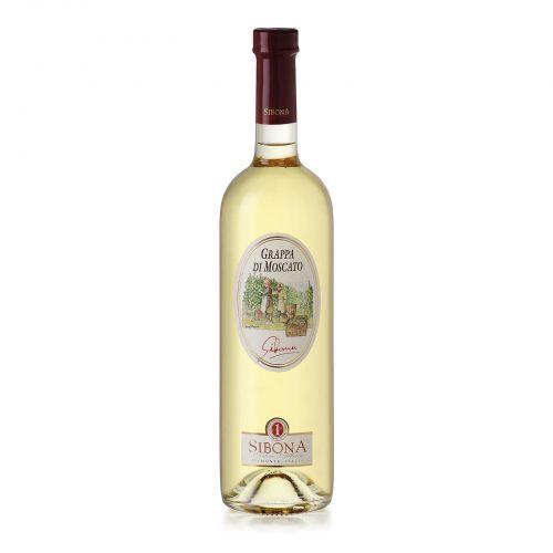 Grappa di Moscato Linea Distilla - Distilleria Sibona