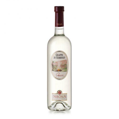 Grappa di nebbiolo Linea Distilla - Distilleria Sibona