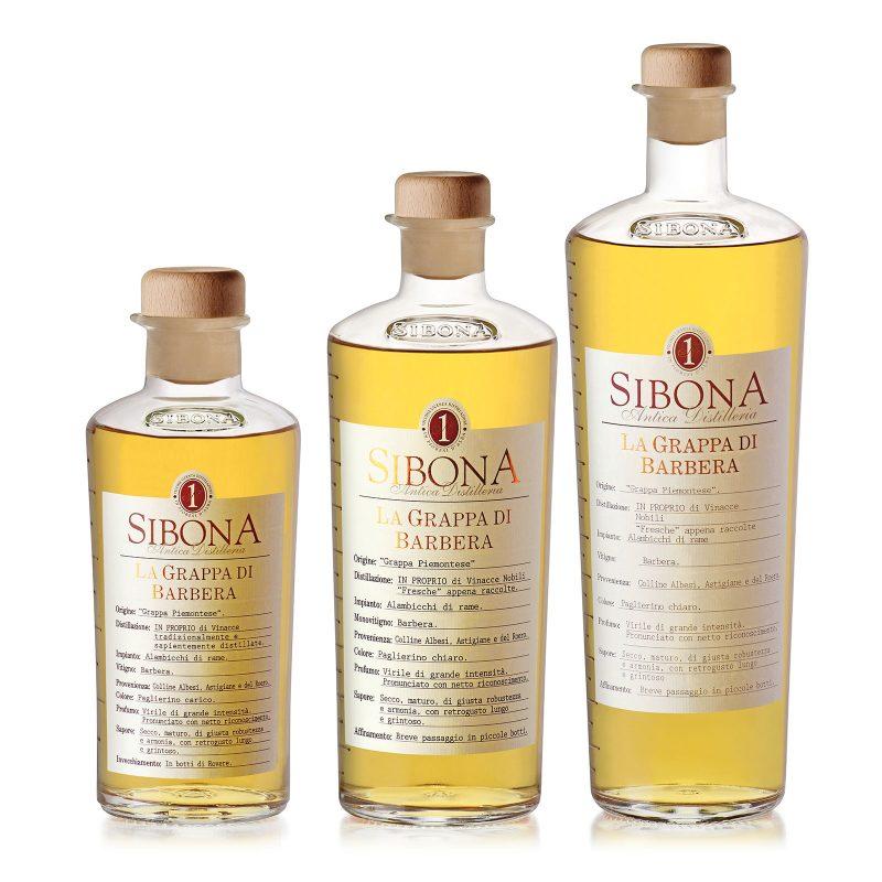 Grappa di Barbera - Distilleria Sibona