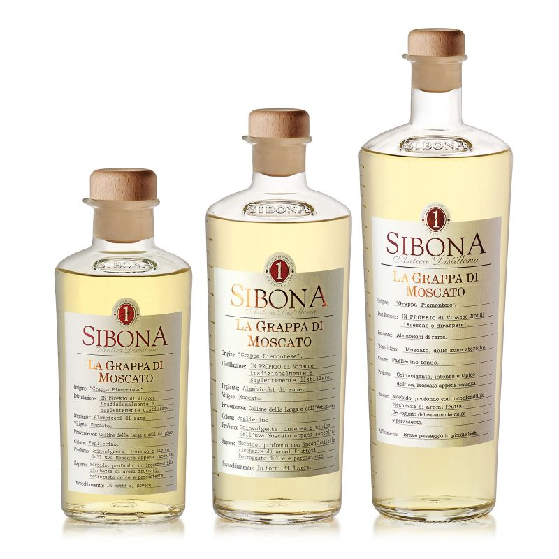 Grappa di Moscato - Distilleria Sibona
