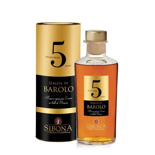 Grappa Riserva Barolo 5 anni - Distilleria Sibona