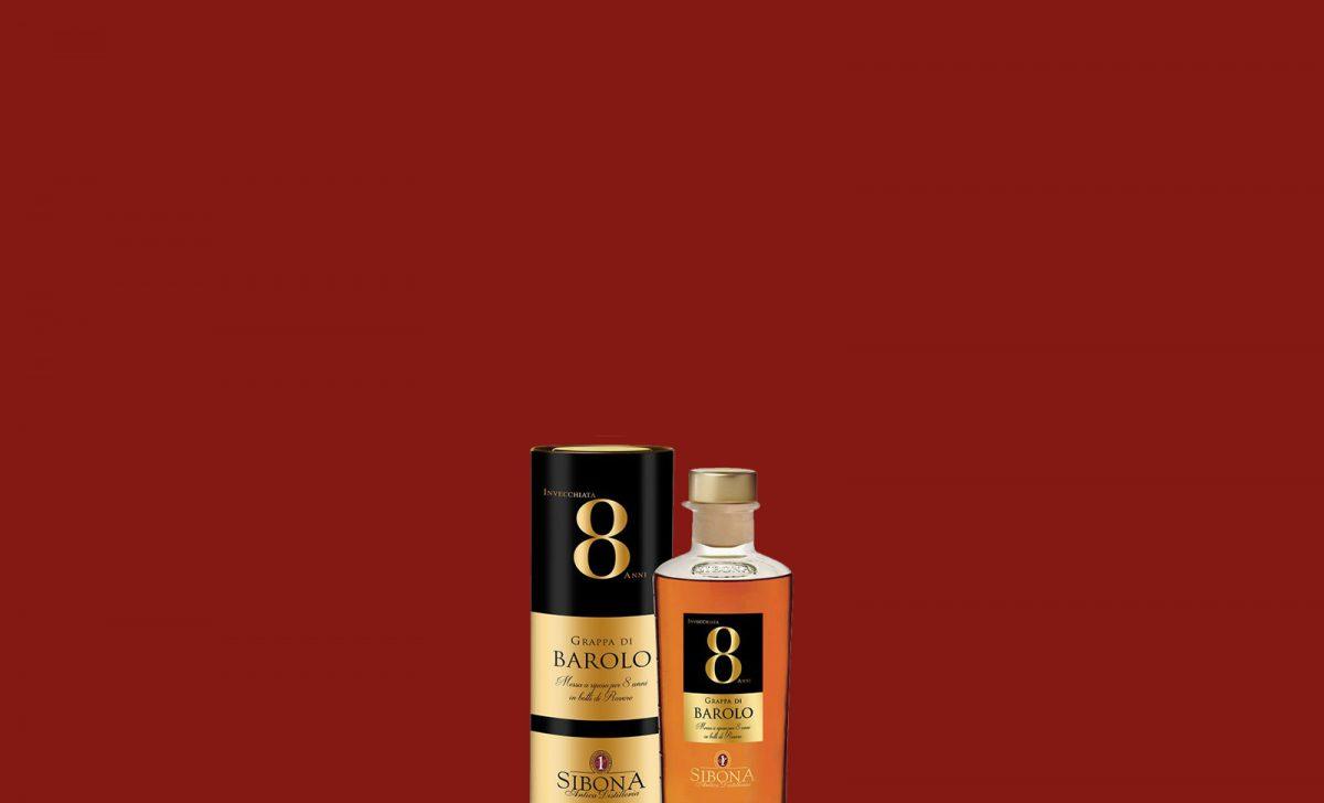 Grappa Riserva Barolo 8 anni - Distilleria Sibona