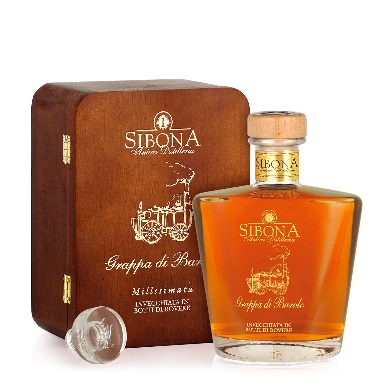 Grappa di Barolo millesimata - Distilleria Sibona
