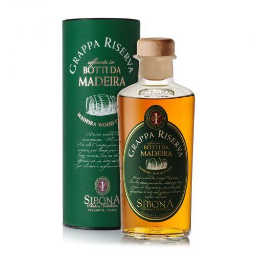 Grappa Riserva in botti da Madeira - Distilleria Sibona