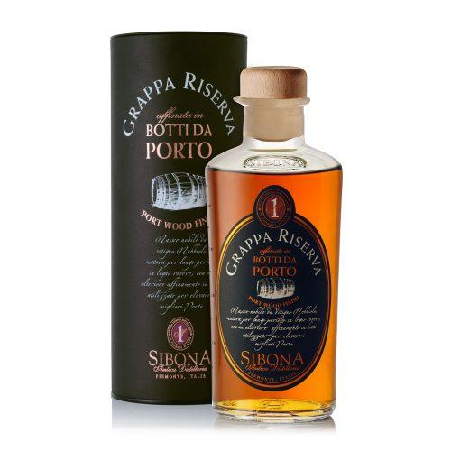 Grappa Riserva in botti da Porto - Distilleria Sibona