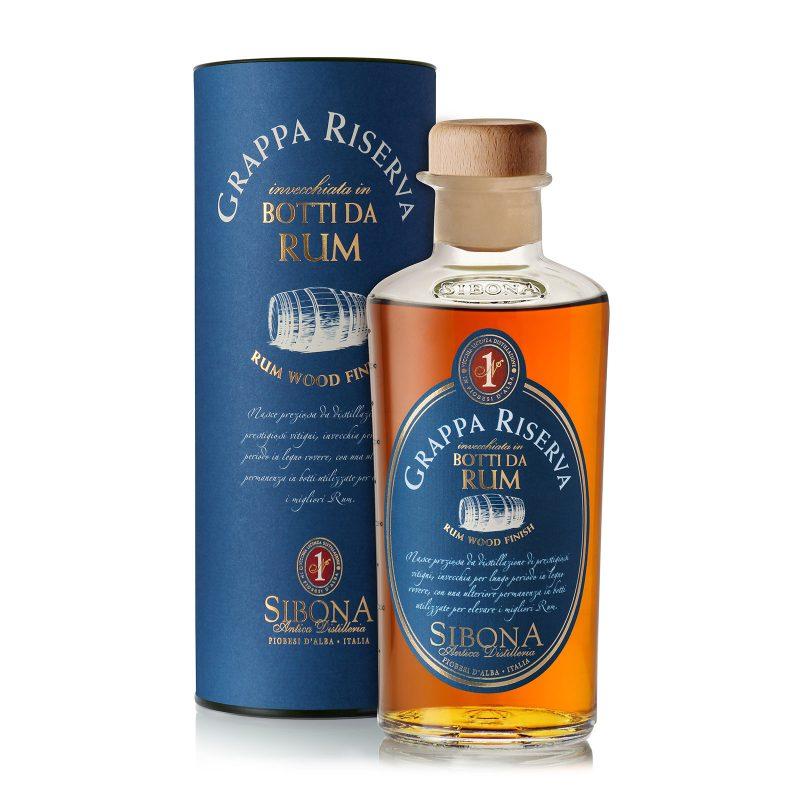 Grappa Riserva in botti da Rum - Distilleria Sibona