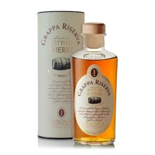 Grappa Riserva in botti da Sherry - Distilleria Sibona