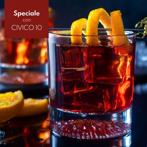 Negroni Sbagliato D.O.C, con Vermouth Sibona CIVICO 10
