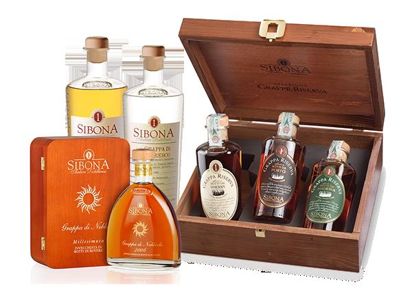 Prodotti Distilleria Sibona
