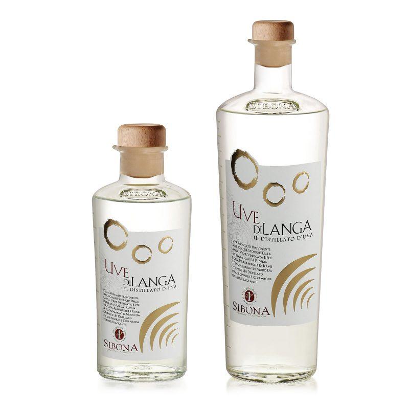 """Distillato d'uva """"Uvedilanga"""" - Distilleria Sibona"""